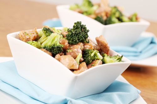 Chicken and Broccoli Bowl (serves four)