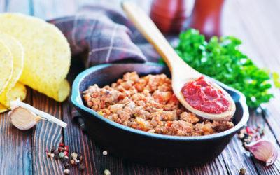 Turkey or Buffalo Chili (serves six)